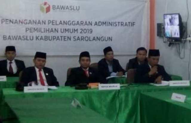 Photo of Pelanggaran Administrasi Pemilu Mulyadi Cs Ditolak Bawaslu Sarolangun
