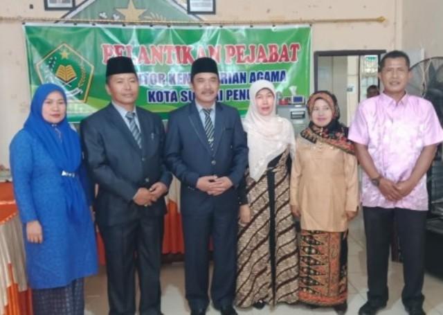 Photo of Pahrizal Lantik Hendri Bahtera Sebagai Kepala MTSN Model Sungai Penuh