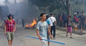 Kerusuhan Pentagen, akibat Bentrok Warga Seleman - Pendung Talang Genting Setahun Lalu