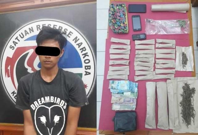 Photo of Polres Tebo Temukan Ladang Ganja, Dua Bandar Ditangkap