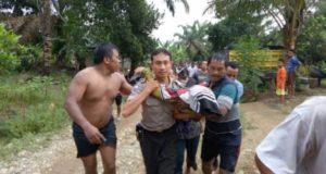 Dua pelajar Merangin tewas tenggelam. Foto: Brito.id