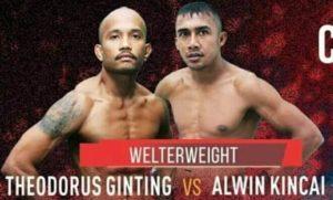 Alwin Kincai vs Theodorus Ginting