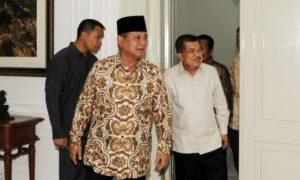 Jusuf Kalla dan Prabowo