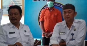 Lukman Kurir Sabu Warga Mersam Ditangkap BNNK