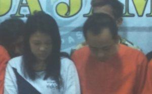 Pasutri asal Tungkal dicuduk Polisi. Foto: Wawan/Serujambi.com