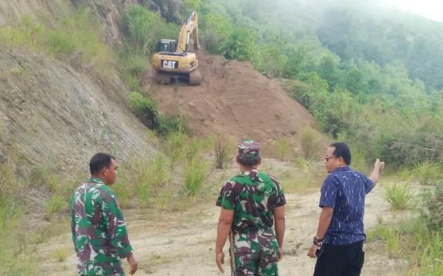 Pekerjaan Jalan TMMD Kodim Kerinci di Sungai Penuh Capai 400 Meter