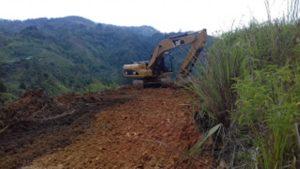 Pra TMMD di Sungai Penuh, Pekerjaan Jalan Terus Dipacu