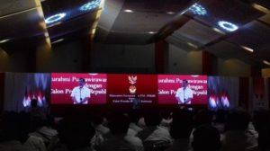 Ribuan Purnawirawan TNI Polri Dukung Jokowi