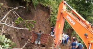 Seorang Penambang Batu Tewas Tertimbun Longsor di Bungo