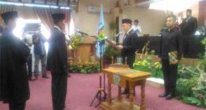 Syaharman Dilantik Jadi Anggota DPRD Sungai Penuh