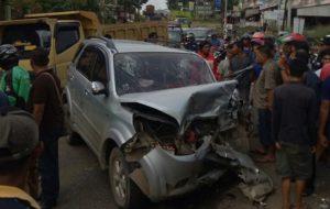 Tabrakan Maut Rush Vs Phanter di Mayang Jambi