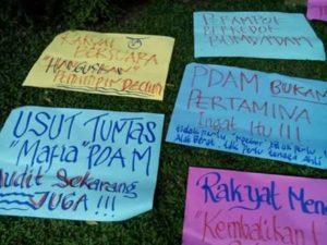 Warga Desak Fasha Wali Kota Jambi Copot Direktur PDAM