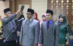 Wali Kota Sungai Penuh AJB Lantik Pejabat Eselon II