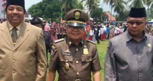 Ami Taher Wakil Bupati Kerinci Hadiri Upacara HUT Satpol PP di Merangin