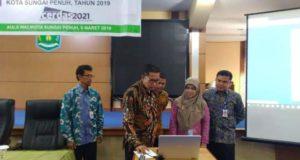BPKP – Pemkot Sungai Penuh Launching SIMDA Perencanaan