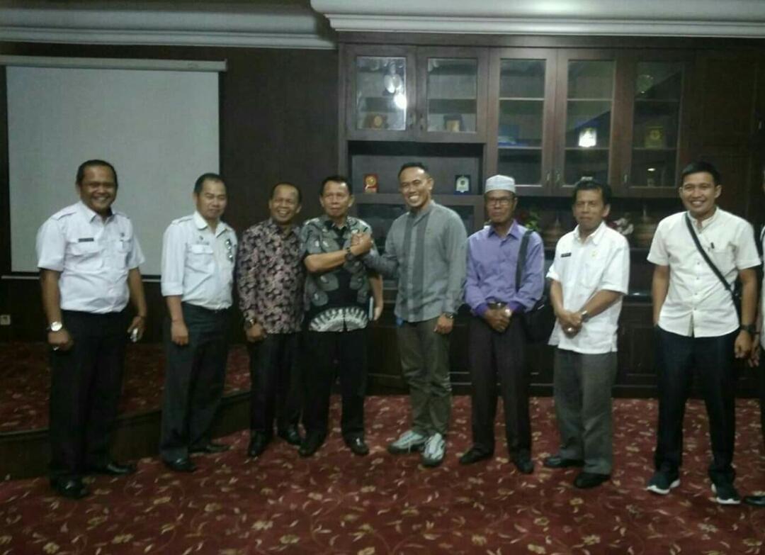 Badan Kehormatan DPRD Kota Sungai Penuh Kunjungi DPRD Tanjabtim