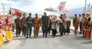 Bupati Kerinci Sambut Kunjungan Kerja Brigjen Syarial Kasdam II Sriwijaya
