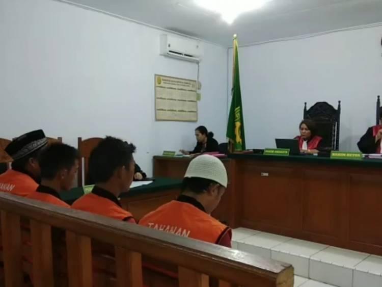 Empat Pencuri di Jambi Timur Dihukum 2 Tahun Penjara
