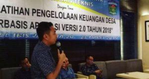 Fikar Azami Ketua DPRD Sungai Penuh Buka Bimtek Pelatihan Keuangan Desa