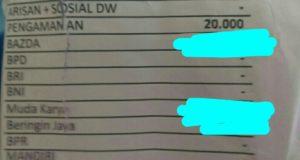 Slip Gaji ASN Dinas Pendidikan Kabupaten Kerinci