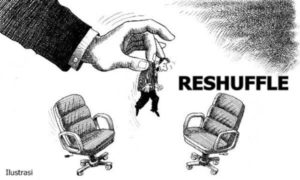 Ilustrasi Reshuffle