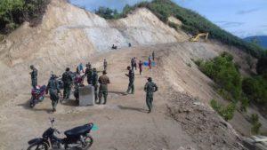 Kerja Keras TMMD Buka Jalan Baru Membelah Bukit Pematang Gelanggang Tuntas
