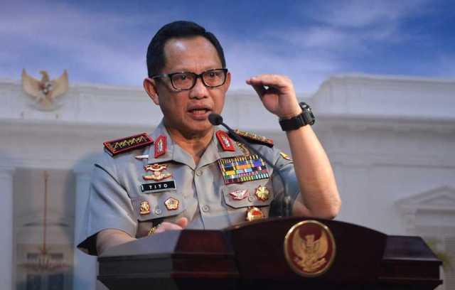 Jenderal Tito Karnavian.