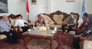 Kepala KPP Bangko Kunjungi Bupati Kerinci