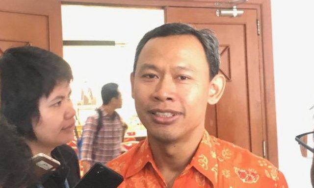 Komisioner KPU Pramono Ubaid Tantowi