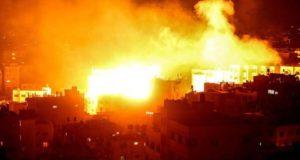 Ilustrasi Konflik Gaza Israel
