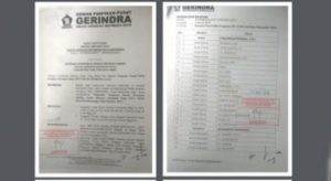 Konflik Gerindra Jambi Makan Korban, Dua Ketua DPC Dipecat