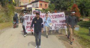 Kunjungi Kerinci dan Sungai Penuh, KPK Disambut Dengan Demo KAMMI