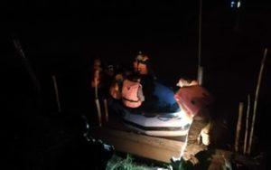 Pencarian Hingga Malam, Romi Warga Kumun yang Tenggelam Belum Ditemukan