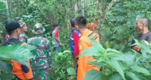 Tim gabungan saat melakukan pencarian terhadap warga Pentagen, Kecamatan Danau Kerinci, Kabupaten Kerinci yang hilang saat menggembala ternak / Metrojamni.com