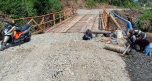 Pekerjaan Proyek Jembatan Siulak Kabupaten Kerinci