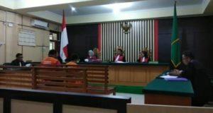 Sidang dua terdakwa narkoba di Pengadilan Negeri (PN) Jambi/Brito.id