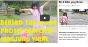 Vlog Model Cilik di Kerinci Main di Jalan Rusak