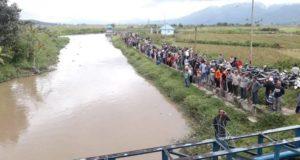 Warga Kumun Sungai Penuh Tenggelam di Sungai Batang Meraho