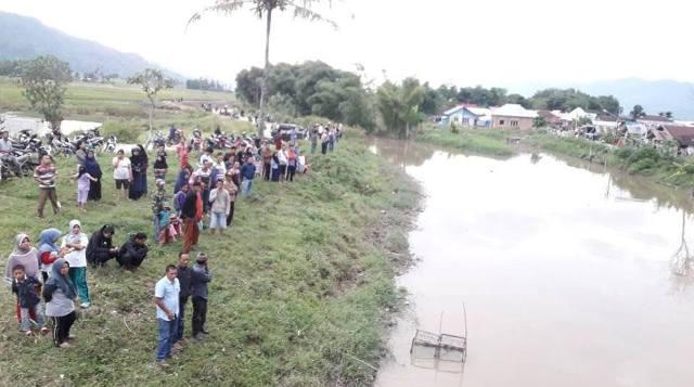 Warga Kumun yang Tenggelam di Sungai Batang Merao Bernama Romi