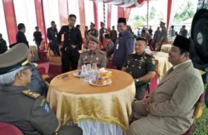 Zulhelmi Wakil Wali Kota Sungai Penuh Hadiri Upacara HUT Pol PP di Merangin