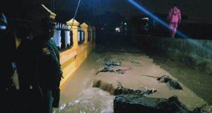 Diterjang Banjir, Puluhan Meter Irigasi di Karya Bakti Sungai Penuh Jebol
