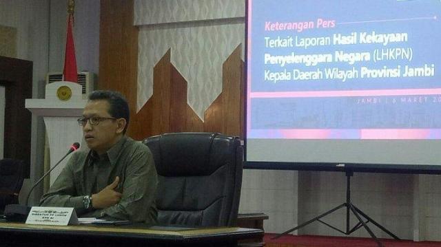 Plt direktur LHKPN KPK RI Syarif Hidayat