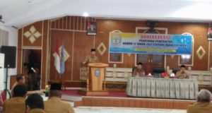 Adirozal Bupati Kerinci Buka Sosialisasi Manajemen PNS