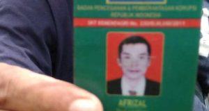 Afrizal Anggota LSM BPPK RI