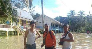 Banjir Bandang di Batanghari, Kegiatan Belajar Terhenti, 10 KK Mengungsi