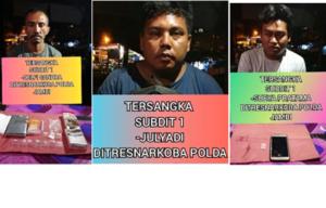 Ditresnarkoba Polda Jambi Tangkap 3 Pelaku Pengedar Sabu