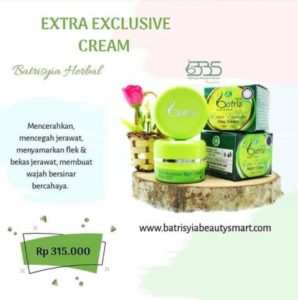 Extra exlusive cream batrisyia