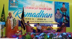Fakultas Syariah IAIN Kerinci Gelar Lokakarya Imsyakiah Ramadan