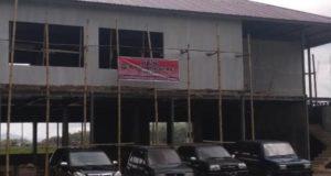 Gedung Forum Pemuda Kreatif Sakti Alam Kerinci (FPK-SAK) di Desa Debai, Kecamatan Kumun Debai, Kota Sungai Penuh.