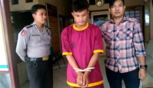 Dedek Suhendra (33) warga Kecamatan Telanai Pura Kota Jambi Pelaku Pencurian